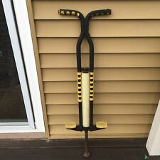 "Vintage Pogo Stick S.B.I. Enterprises Ellenville, N.Y.  41"" Black & Yellow USED"