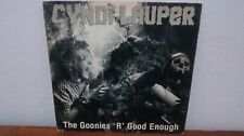 "7"" CYNDI LAUPER 45 ""THE GOONIES R GOOD ENOUGH"" 85' VG *EXCLUSIVE B&W PS* BRAZIL"
