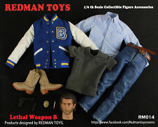"Redman Toys RM 1/6 Scale 12"" Lethal Weapon B Accessory Set RM014"