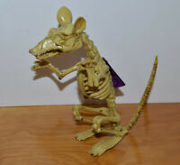 "SKELETON RAT HALLOWEEN DECORATION 6.5"" TALL PROP FIGURINE MONSTER HORROR"