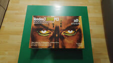 3DFX Voodoo 3 3000 16MB PCI incl. original box and manuals / Top condition