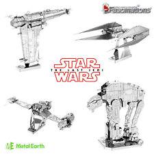 Metal Earth Star Wars The Last Jedi 3D Laser Cut Metal Miniature Model New UK