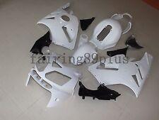 Unpainted White ABS Injection Bodywork Fairing Kit for Kawasaki ZX12R 2002-2005