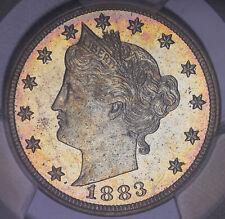 1883 W/ CENTS LIBERTY HEAD V NICKEL PROOF PCGS PR64 #17609COJ