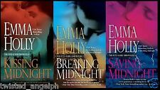 Set of 3 Books by Emma Holly