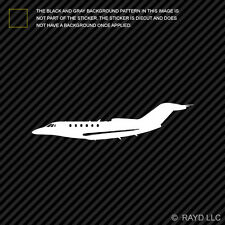 (2x) Cessna Citation X Jet Sticker Die Cut Decal Self Adhesive Vinyl business