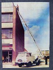 Robur Drehleiterfahrzeuge LO 2500 IFA DDR AK Werbekarte /83