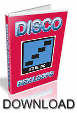 DISCO REX LOOPS - REASON REFILL - CUBASE - PRO TOOLS - LOGIC - ABLETON- DOWNLOAD