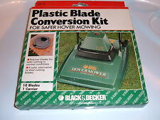 BLACK & DECKER LAWN MOWER PLASTIC BLADE CONVERSION KIT