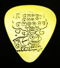 I CHOO CHOO CHOOSE YOU - Solid Brass Guitar Pick, Acoustic, Electric, Bass
