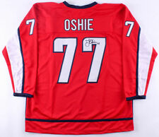 T.J. Oshie Signed Washington Capitals Jersey (JSA Hologram) Stanley Cup Champion