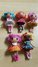 ~~~~ Lalaloopsy Mini Doll Lot Of 5 **Dot Starlight, Jewel Sparkles,more*~~~