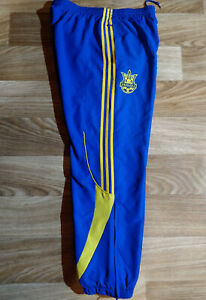 Adidas Ukraine National Team #34 Track Pants Trousers Football Soccer Match Worn