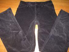 J. Jill  Black Corduroy Pants 2 Stretch 28 W x 31 L Boot Cut