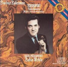 PINCHAS ZUKERMAN - TCHAIKOVSKY: Violin Concerto (CD, 1985 CBS Masterworks) Mehta