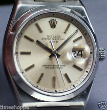 VERY RARE ROLEX MODEL - REF No. 1530 - S/S MUST SEE - MADE ONLY 2 YRS. - WOW !!!