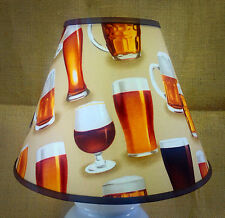 Craft Beer Mug Ale Glasses Handmade Lampshade Lamp Shade