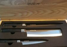 BRAND NEW! KAMIKOTO JAPANESE NIIGATA STEEL KANPEKI KNIVES~SET OF 3