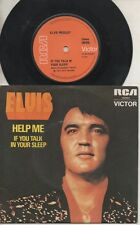"""ELVIS PRESLEY   Rare 1974 Aust Only 7"""" P/C Single """"If You Talk In Your Sleep"""""""