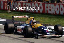Nigel Mansell Williams FW14B F1 temporada 1992 fotografía 3