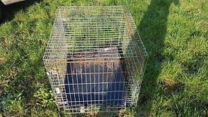 Dog cage..midium size used