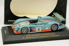 Ixo 1/43 - Audi R8 Team Gulf Le Mans 2001 N°4