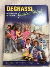 "DVD: Degrassi Junior High - ""The Complete Collection""  used like new (8C)"
