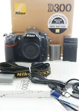 Nikon D D300 12.3MP Digital SLR Camera - Body only with Grip FREE UK POSTAGE