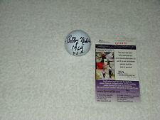 Bobby Nichols Signed Slazenger Golf Ball JSA #Q08490 Inscribed 1964 P.G.A.
