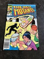 The New Mutants #9 1st Appearance of Selene Gallio Marvel Comics