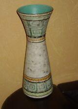 Bay Keramik? 1 Vase Blumenvase Tischvase, buntes Dekor