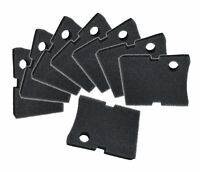 Replacement Hydor 250 / 350  Black Coarse Foam Filter Pads - 8 Pack