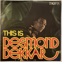 DESMOND DEKKER THIS IS DESMOND DEKKAR LP TROJAN  UK MONO 1969 PRO CLEANED