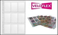 75 Veloflex A4 SAMMELHÜLLEN KARTENHÜLLEN A8 97x67 mm Für Panini Sammelbilder