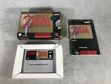 Juego SNES - THE LEGEND OF THE ZELDA A LINK TO THE PAST - Muy Bien Estado - NOE