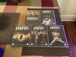 Boardwalk Empire The Complete Collection Seasons/Series 1-5 Box Sets In Vgc