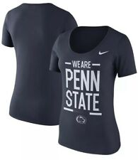 Nike Women's Penn State PSU Football Local Spirit Scoop Jersey Shirt Large L