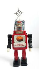 Vintage Cragstan Alps Great Astronaut tin battery robot Japanese space toy 1962