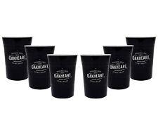Bacardi Rum Oakheart Becher Plastik Kunststoff Partybecher - 6er Set Cocktail