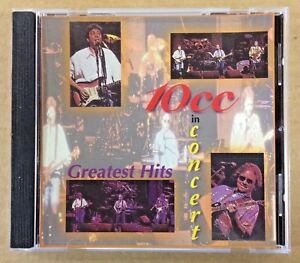 10cc - Rare Live CD - Greatest Hits In Concert - 1996 - 10 cc - Masters