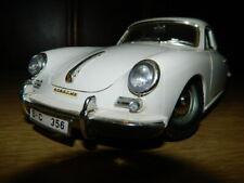 Porsche 356  Modell 1:18 unbespieltes Vitrinenmodell 1961 Bburago