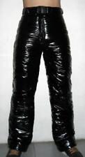 Glossy Shiny Nylon Wetlook Winter Trousers Ski Pants Snowboard Pant