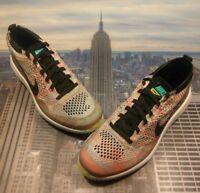 Nike Flyknit Racer G Golf Shoe Multi-Color Hyper Jade Mens Size 7 909756 300 New