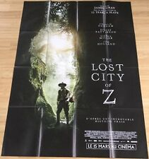 AFFICHE CINEMA 9480 - THE LOST CITY OF Z - JAMES GRAY - 120/160