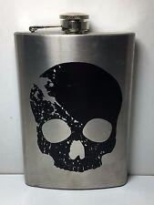 New listing Metal Skull Flask New*