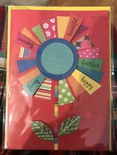 Papyrus Happy Mothers Day Card $5.95 NIP Floral Flowers