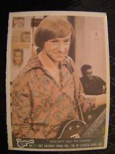 Vintage The Monkees Raybert Trading Card 1967 6 A Peter Tork With Guitar TV Show