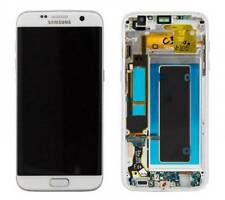 OEM Samsung Galaxy S7 edge G935A LCD Digitizer Screen with AT&T frame - Silver