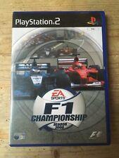 EASports F1 campeonato temporada 2000 PlayStation 2 PS2 (completo, muy buena)