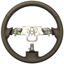 2003-08 Mazda 6 Brown Leather Steering Wheel W/Dimples Incomplete New GS12000720